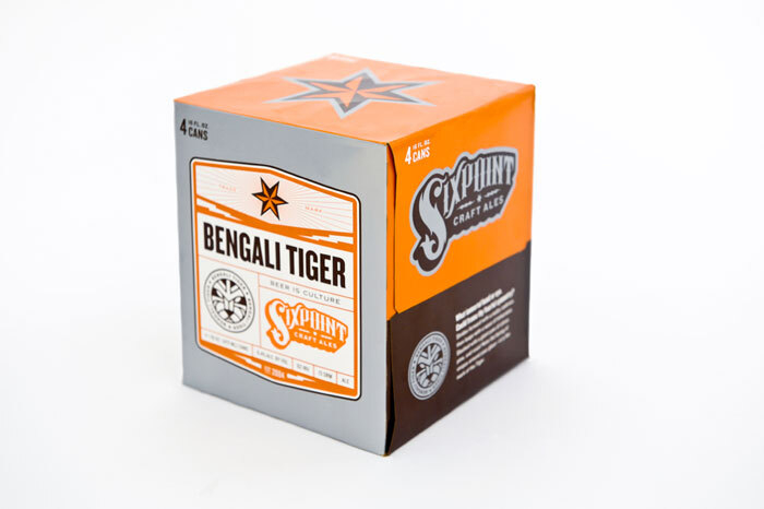 Sixpoint Brewery packaging
