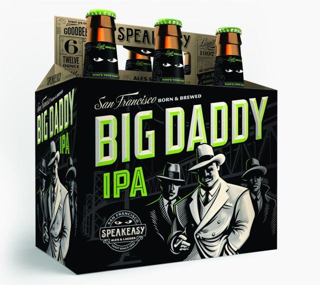 Big Daddy IPA beer bottle packaging