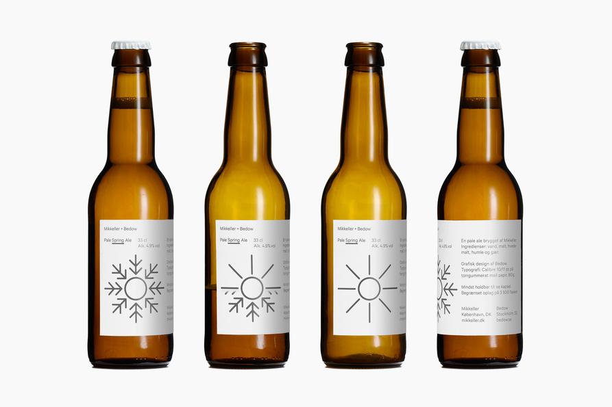Mikkeller Beer bottles