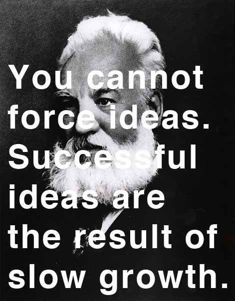 quote by Alexander Graham Bell