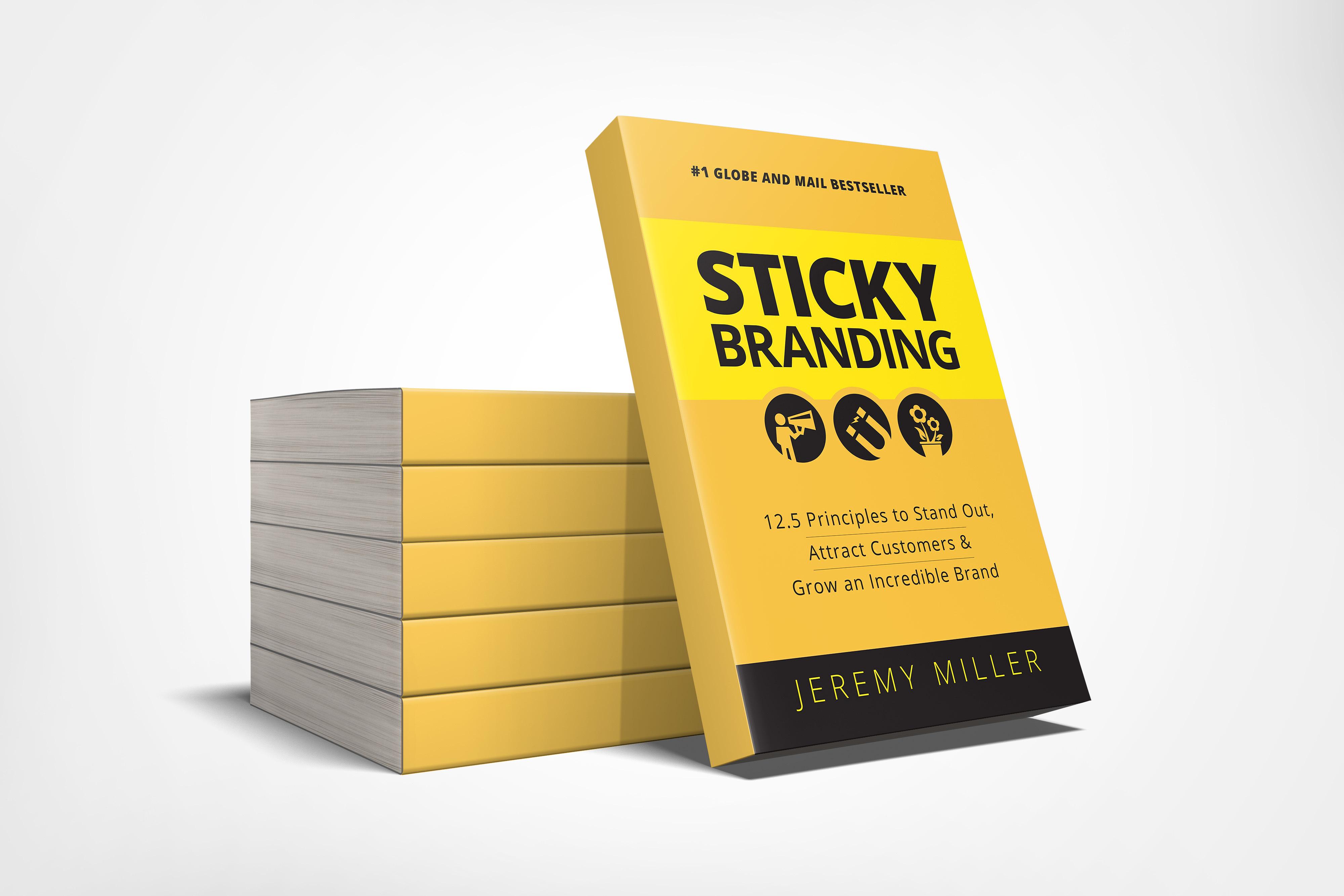 Sticky Branding book