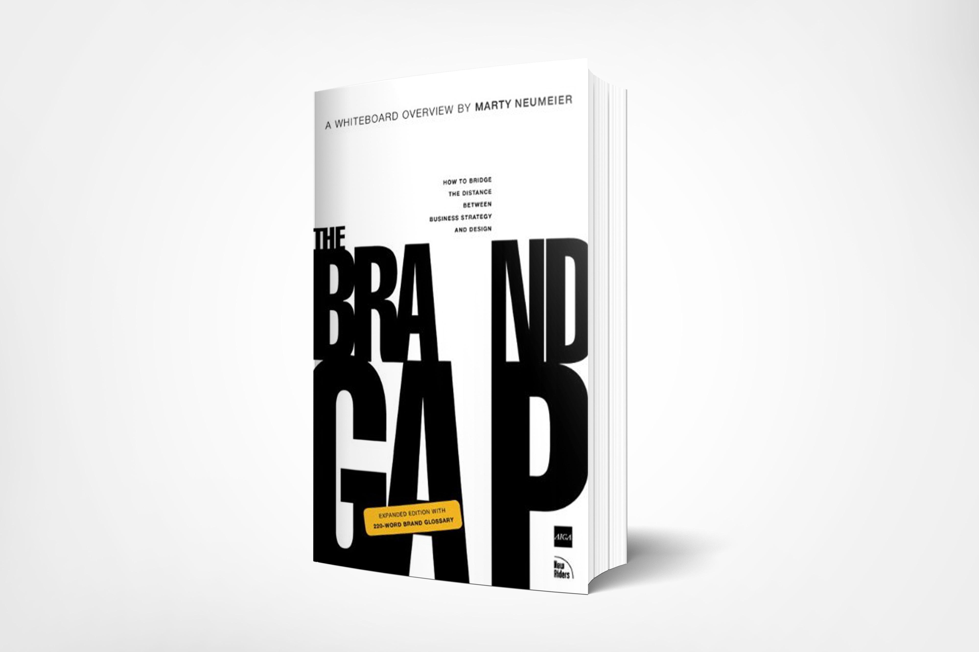 The Brand Gap book