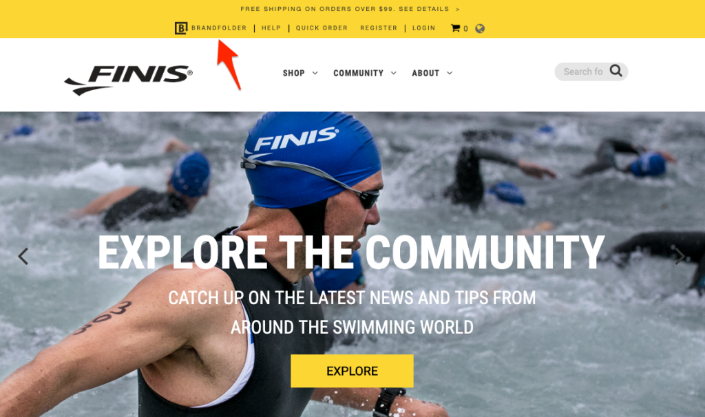 FINIS website
