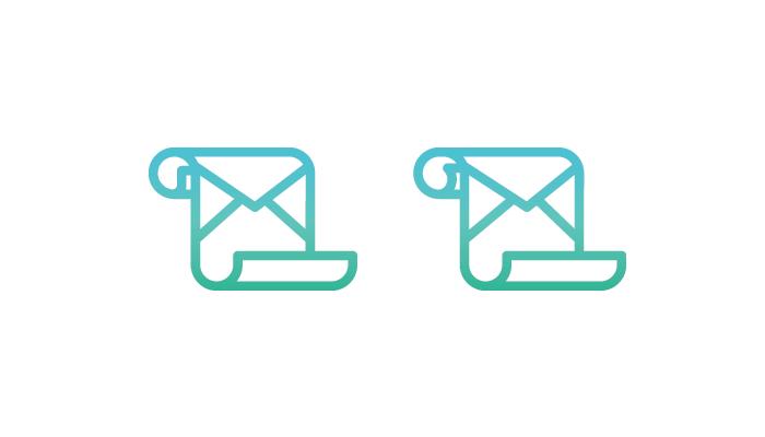 minimalist logo example