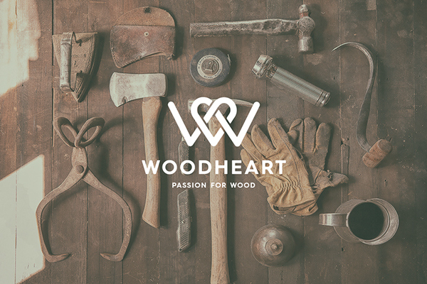 Woodheart logo