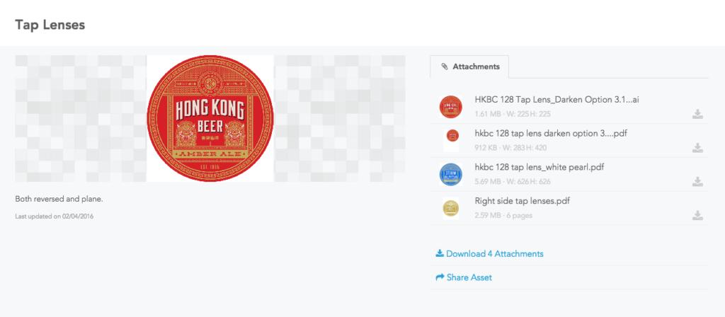 Hong Kong Beer's Brandfolder
