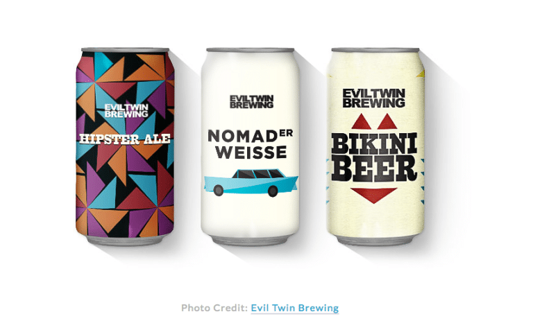 beer can packaging