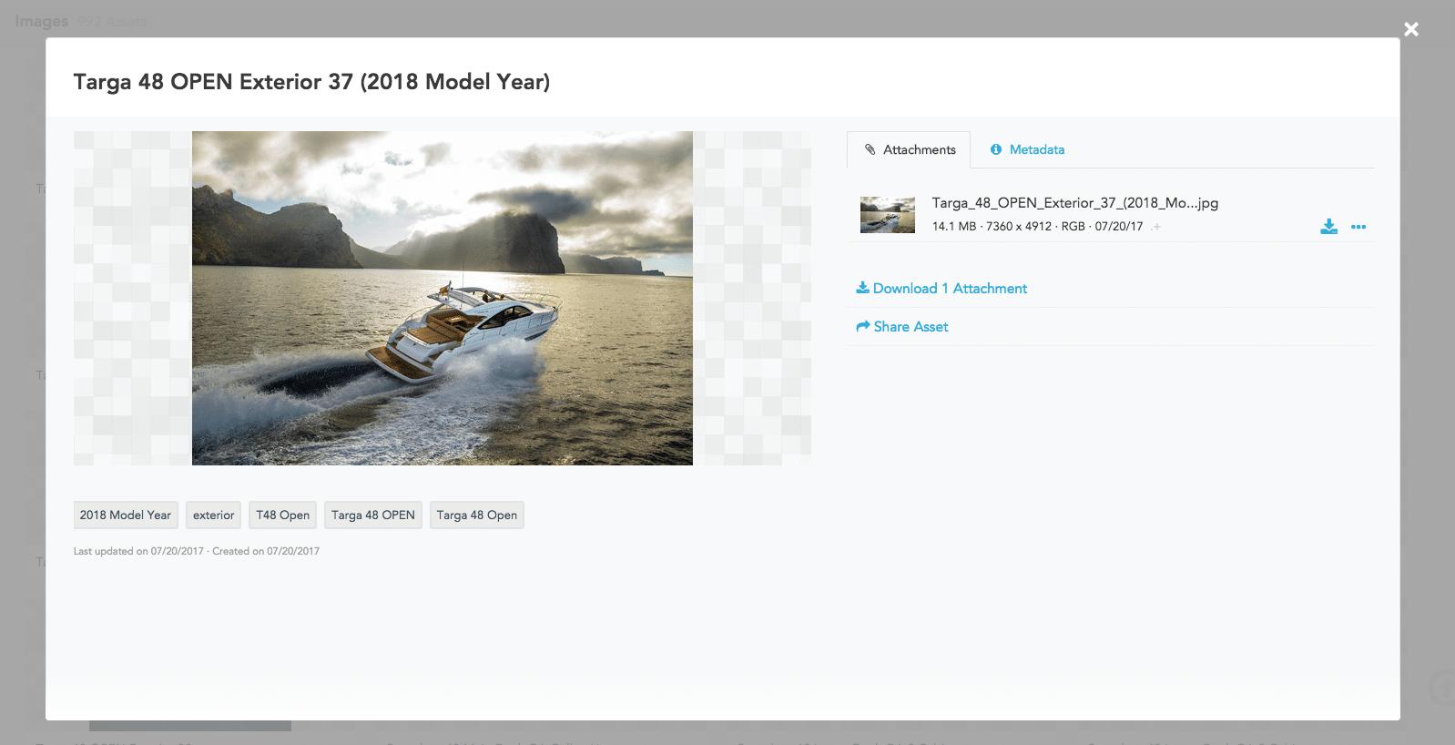 Fairline Yacht's Brandfolder