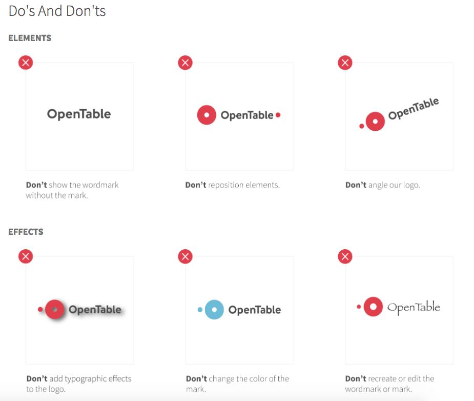 OpenTable rebrand