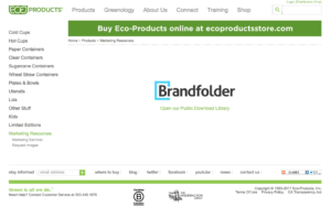 Eco Products website