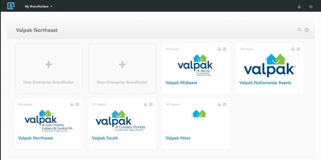 Valpak's Brandfolder