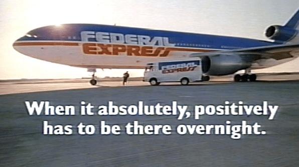 FedEx slogan