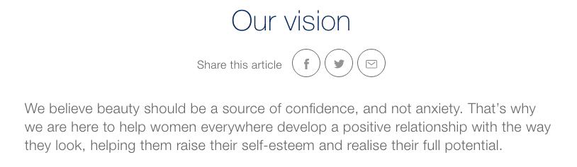 Dove vision