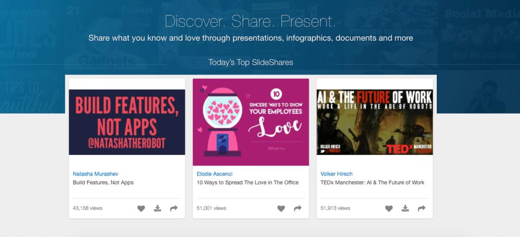 SlideShare example