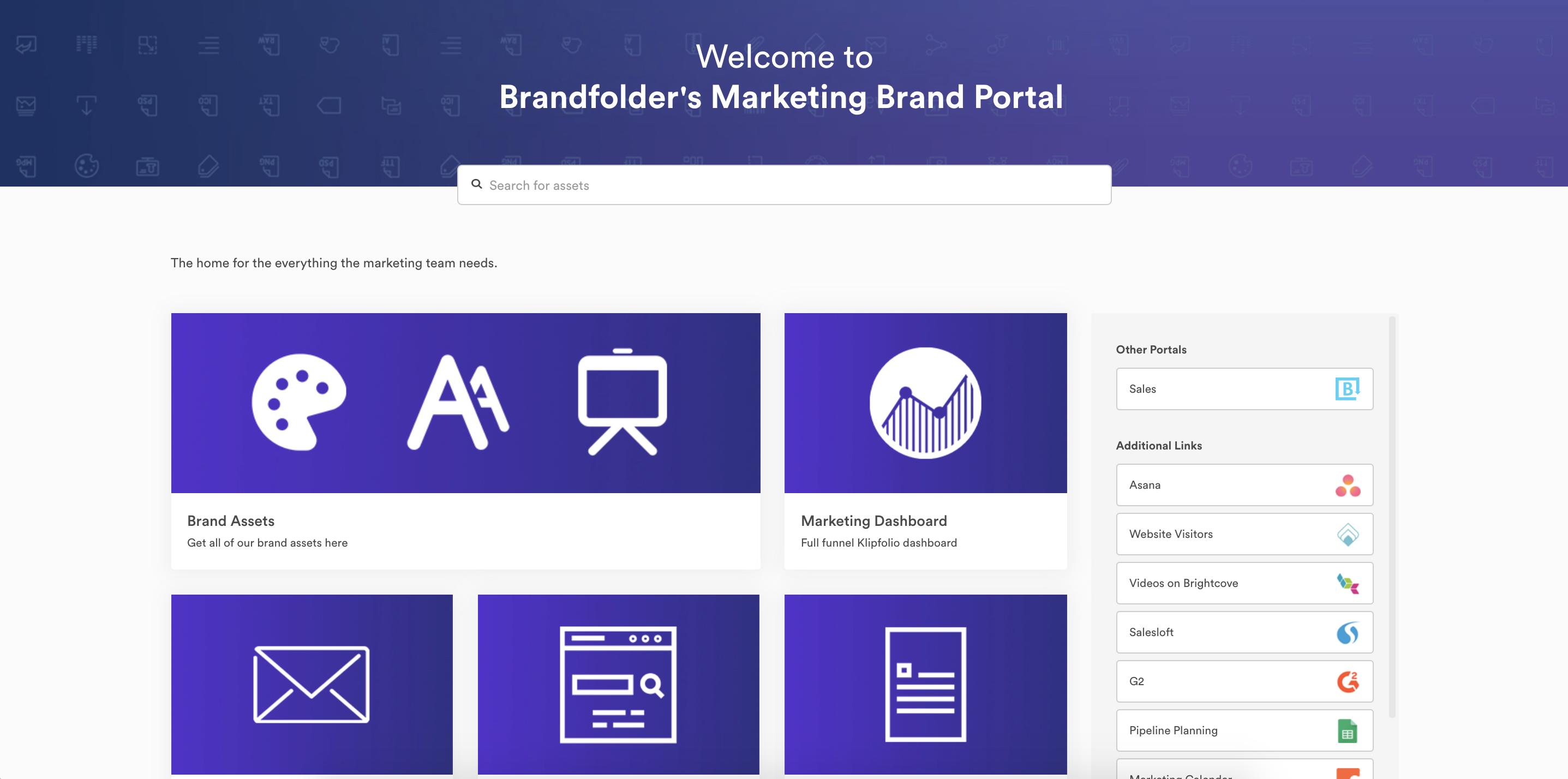 Brandfolder Marketing Portal