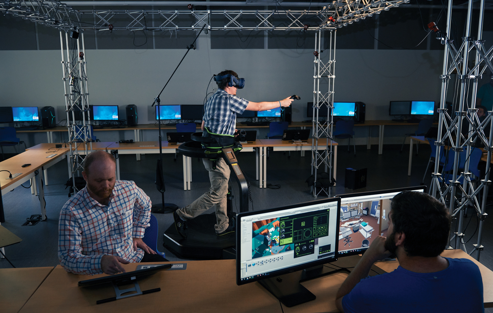 Game development lab