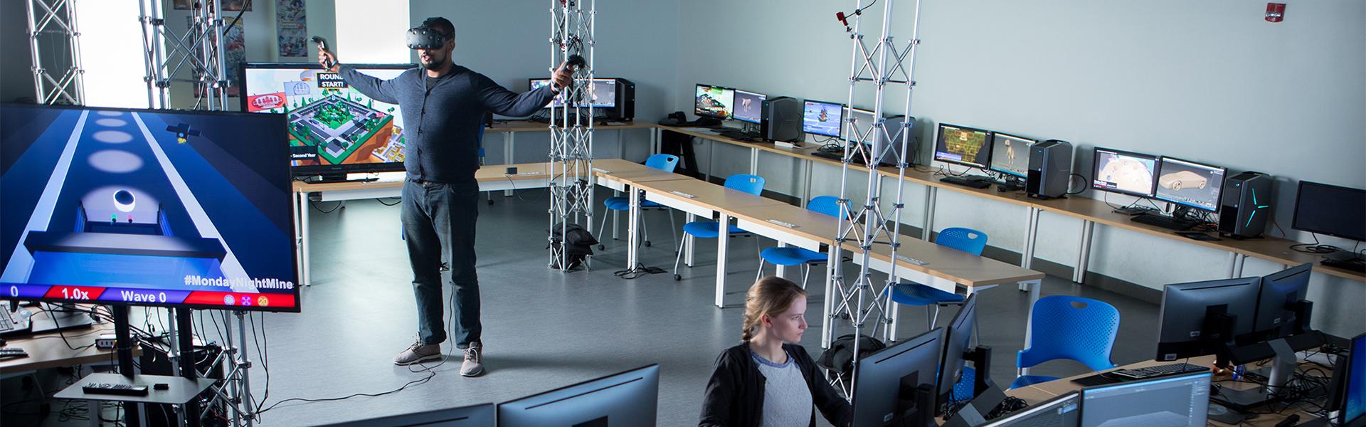 3D Gaming lab