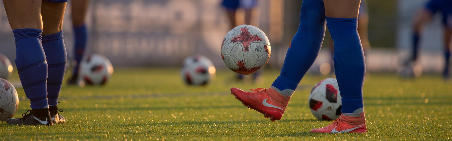 Ridgebacks soccer player