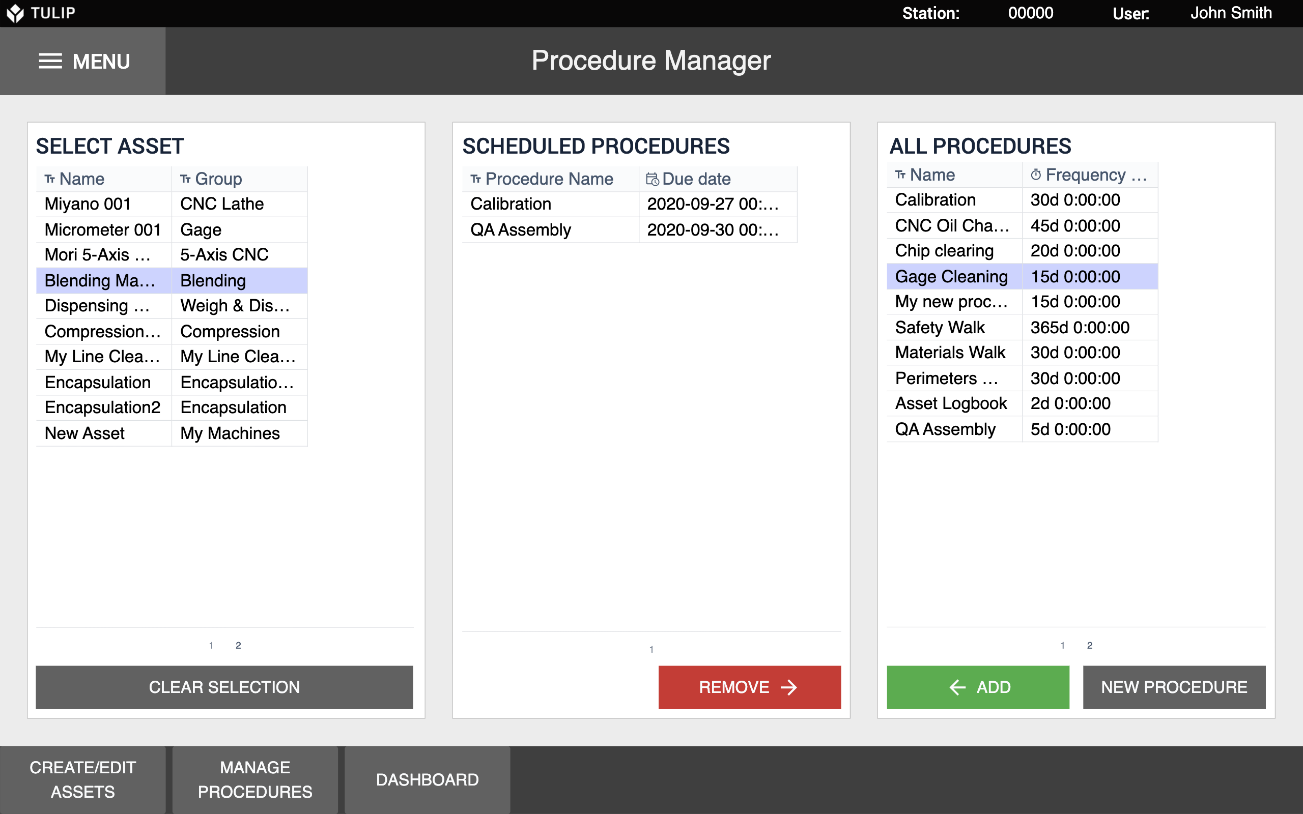 Image of Total Productive Maintenance Procedure Manager app