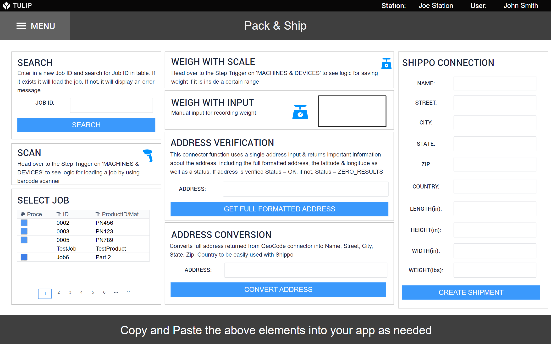 Image of Pack & Ship Module app