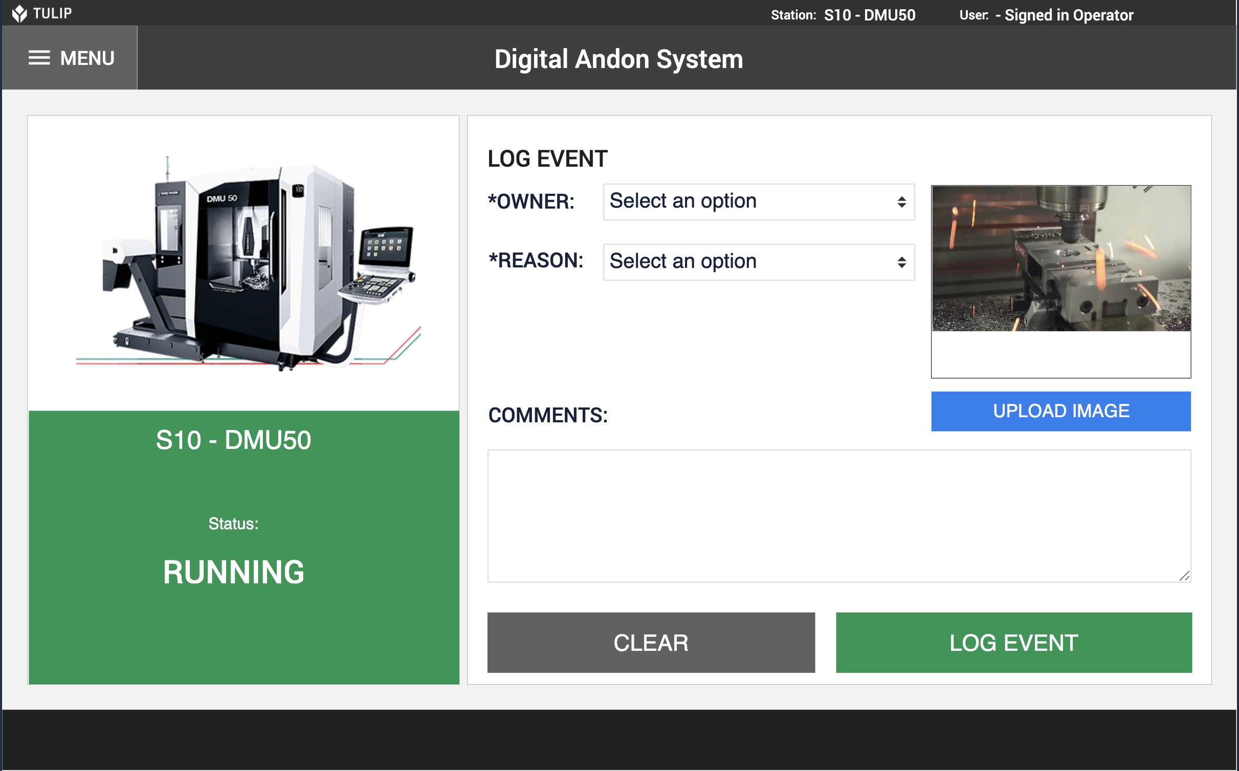 Image of Digital Andon System app
