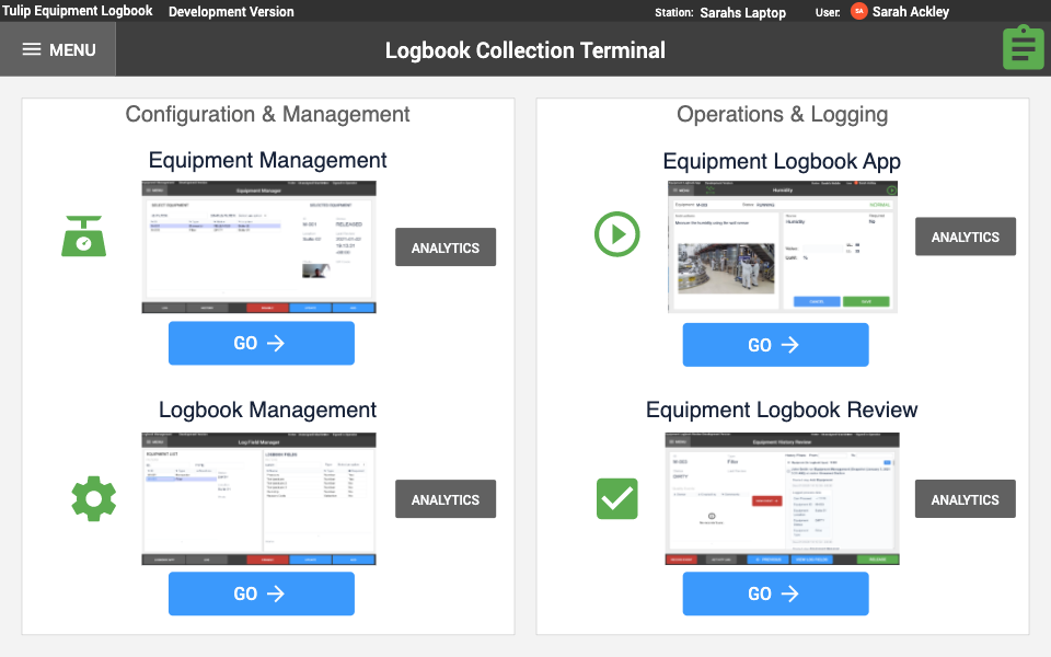 Image of Equipment Logbook App Suite app