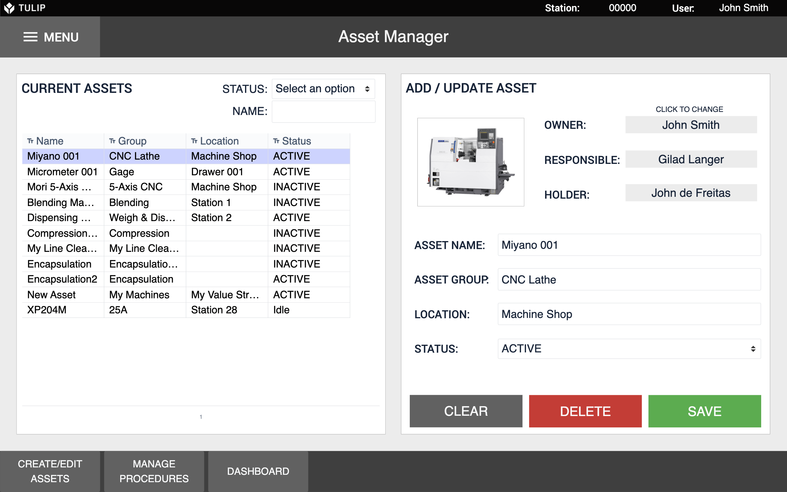 Image of Total Productive Maintenance Asset Manager app
