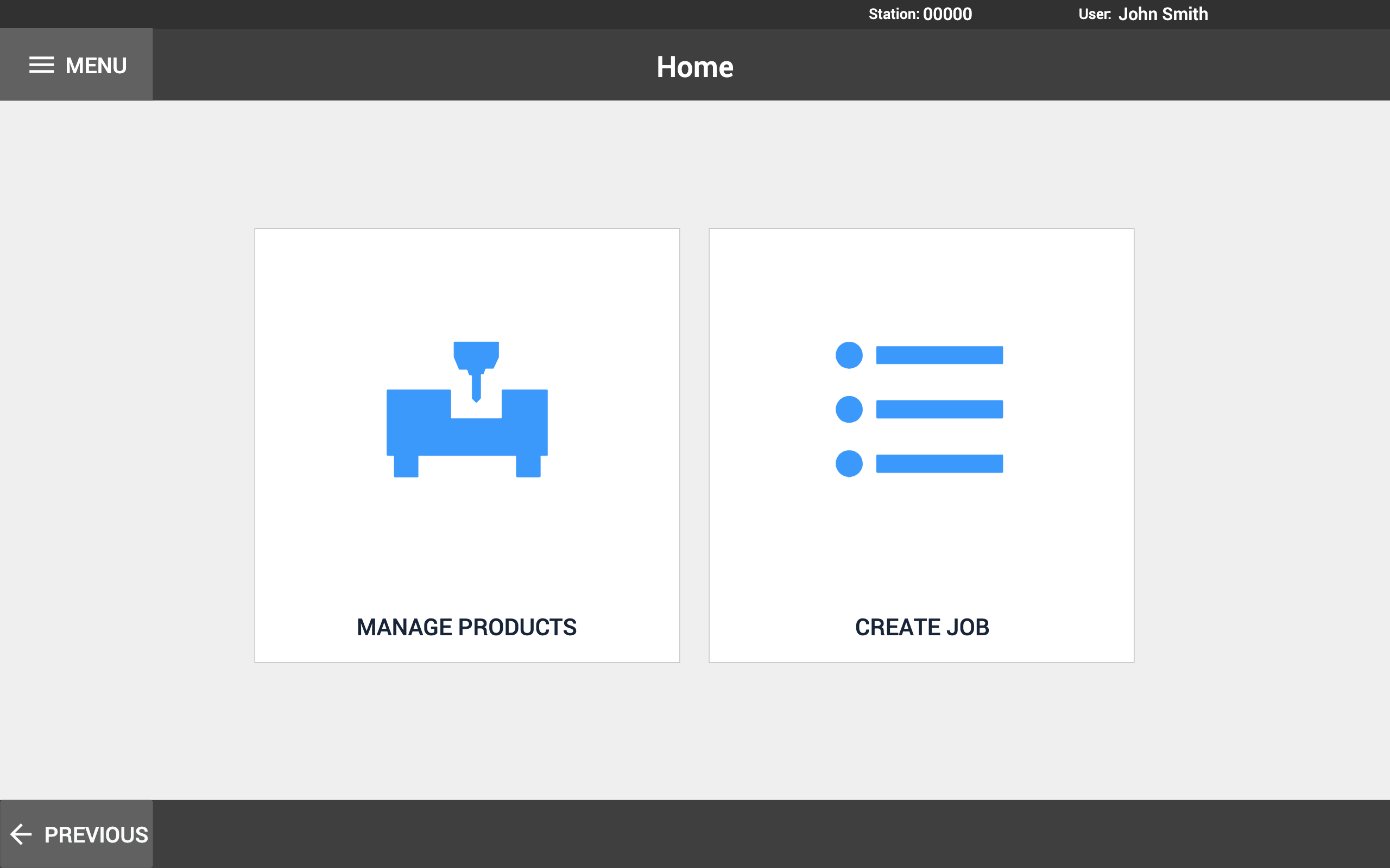 Image of Job and Product Manager app