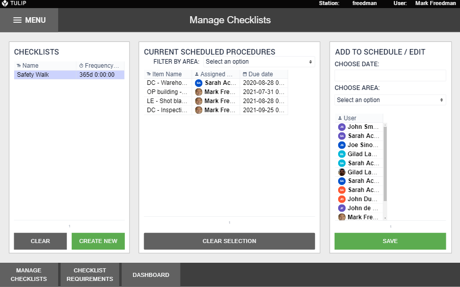 Image of Audit Checklist Manager app