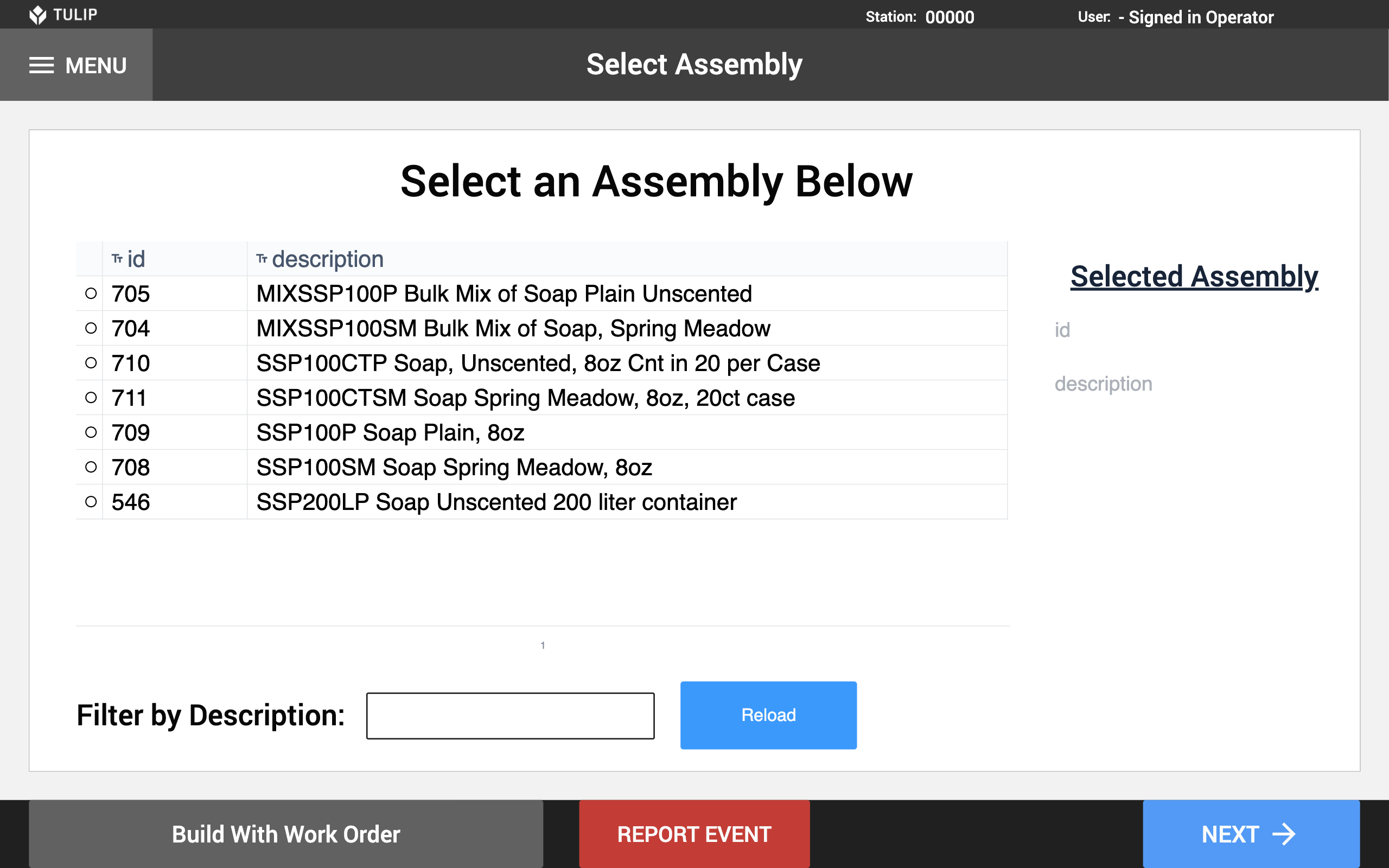 Image of NetSuite Workflow - Assembly Build app