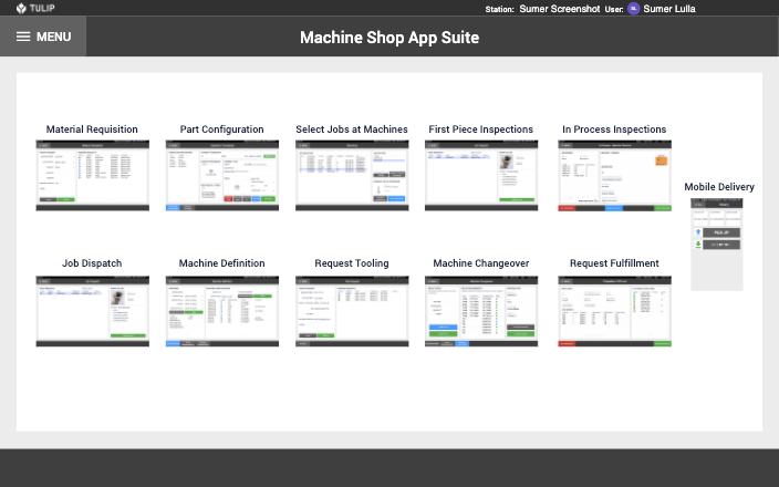 Image of Machine Shop App Suite app