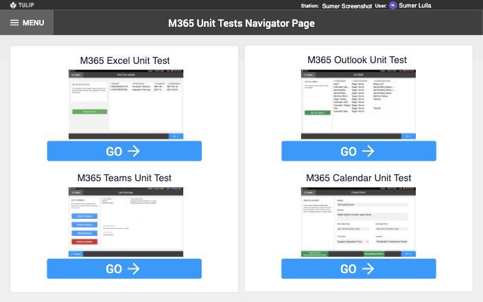 Image of M365 Unit Tests app