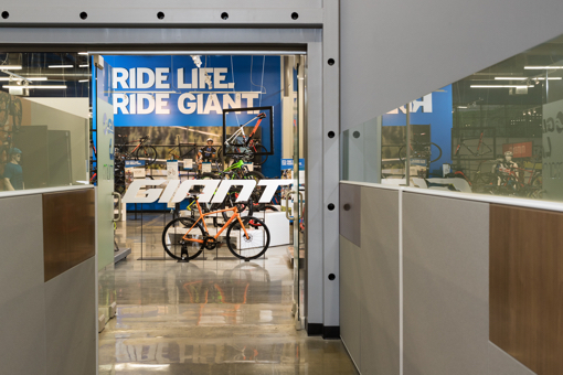 Giant Bicycles store front