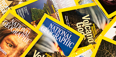 national geographic magazines