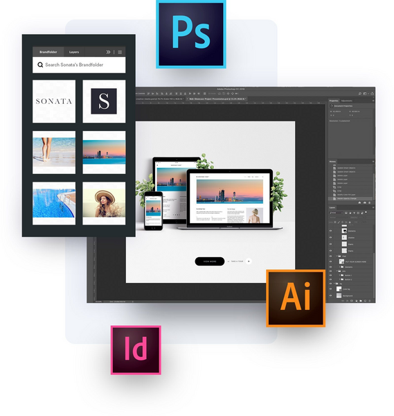 Adobe integration with Brandfolder
