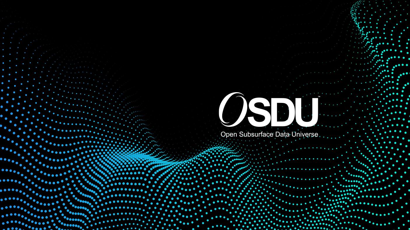 OSDU数据平台