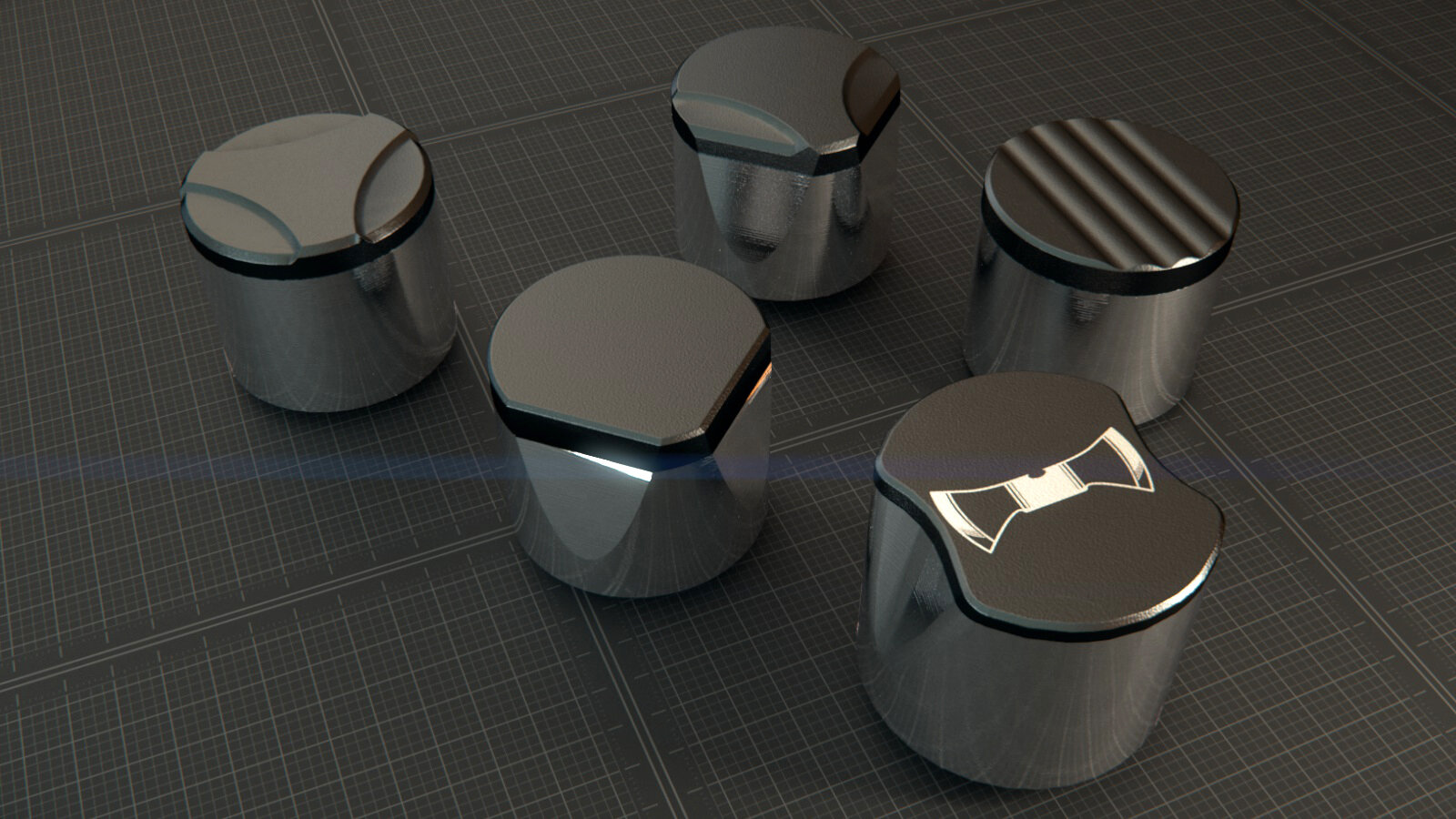 Geometrix™ 4D Shaped Cutters