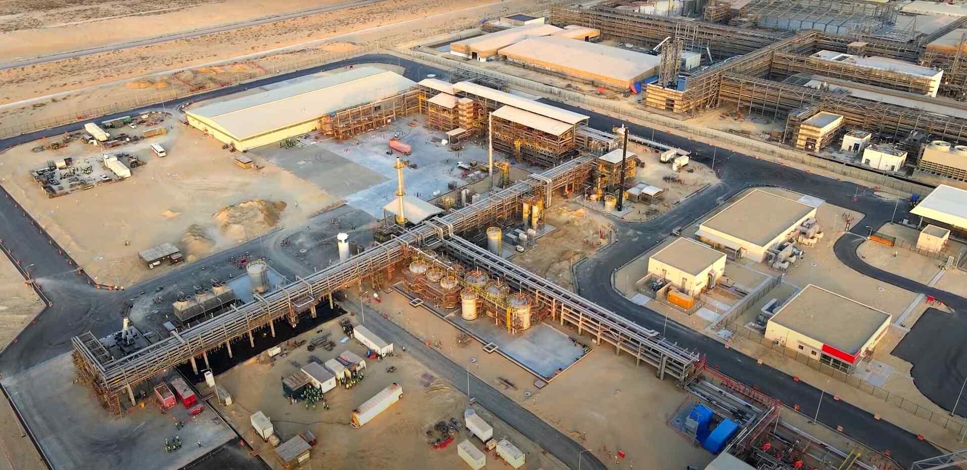 Saudi Arabia Chemical Reaction Plant