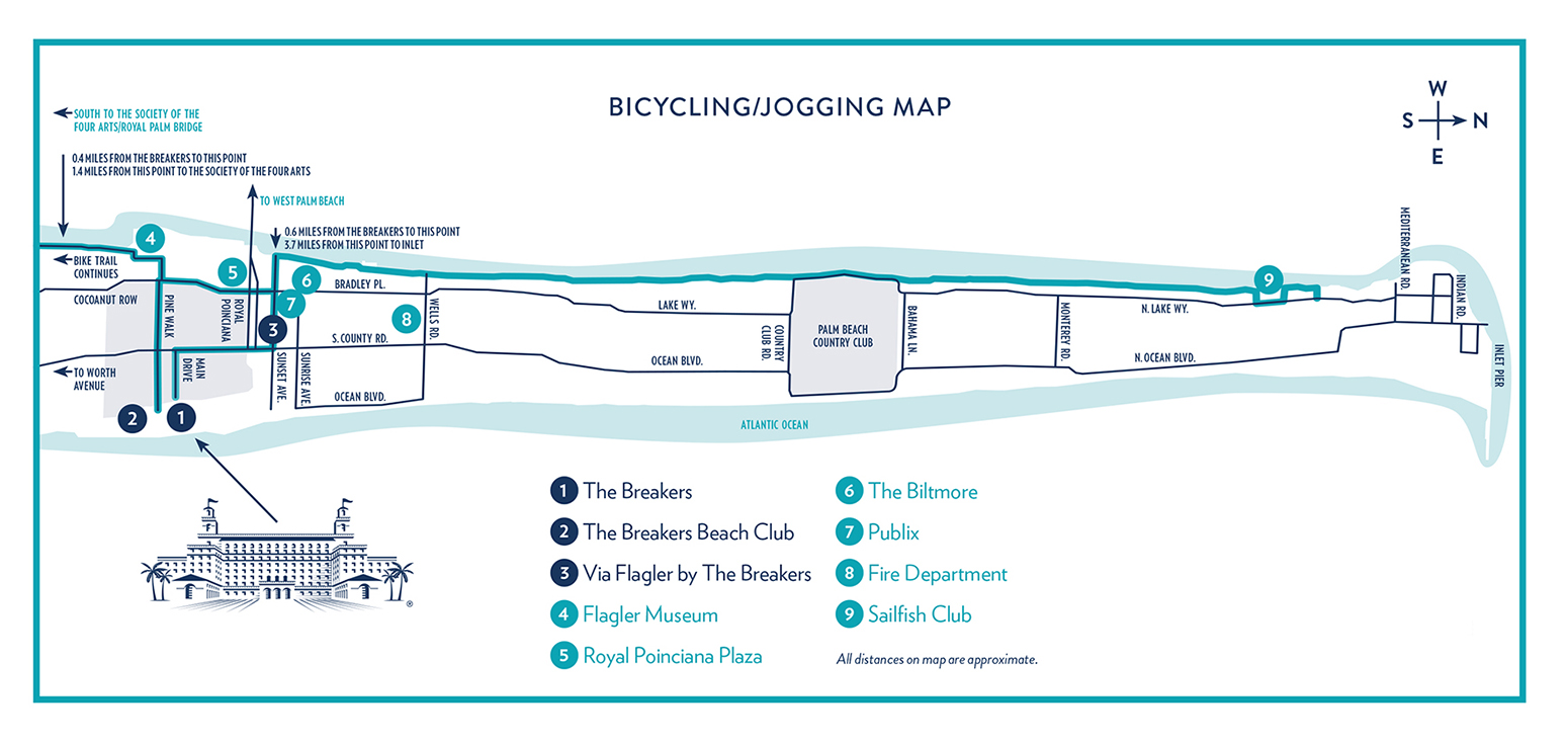 Bicycle & Jogging Map