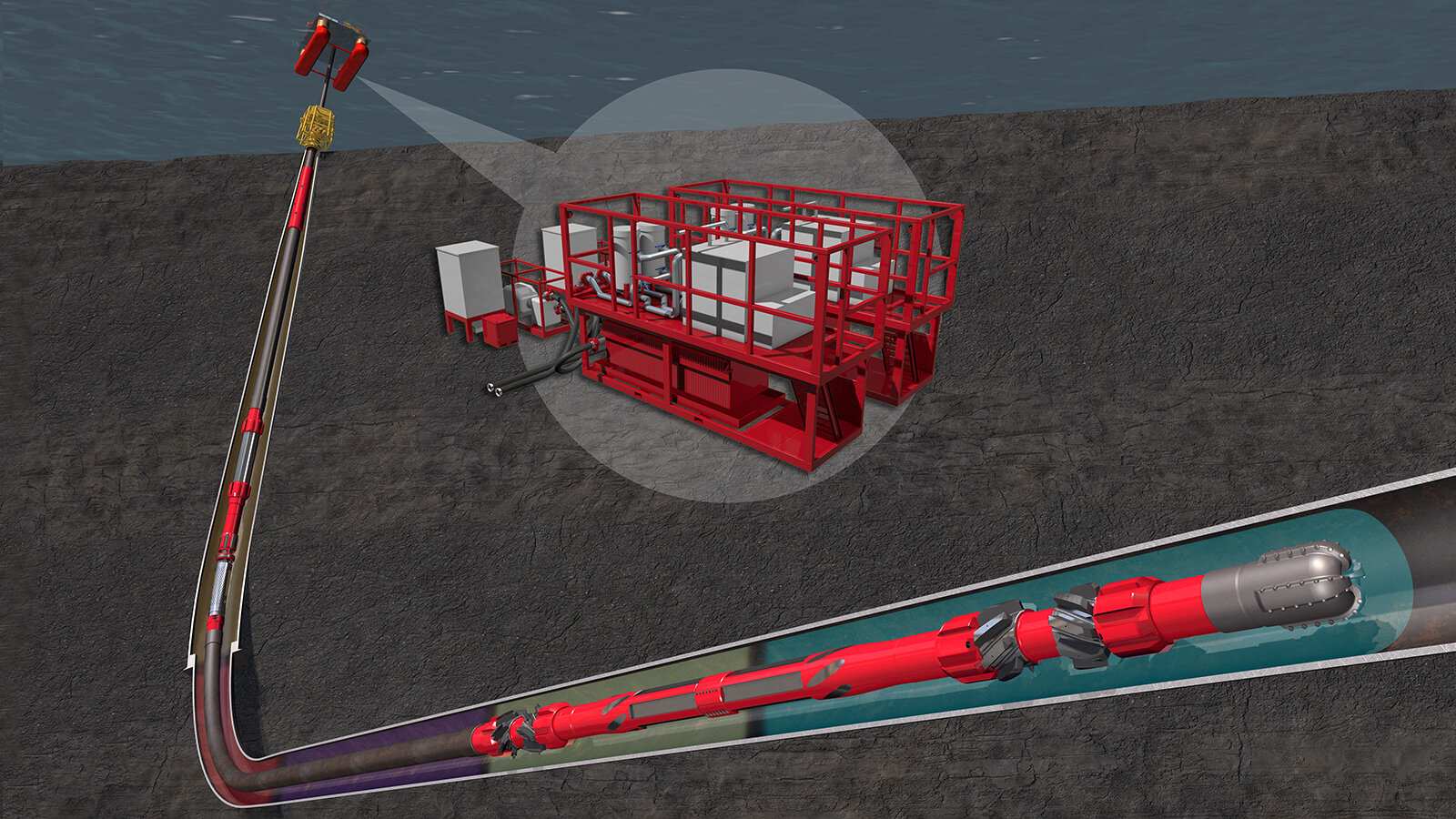 Halliburton CleanWell® Solutions: filtration services, wellbore cleanup fluids, mechanical wellbore cleaning tools, and optimized software modeling
