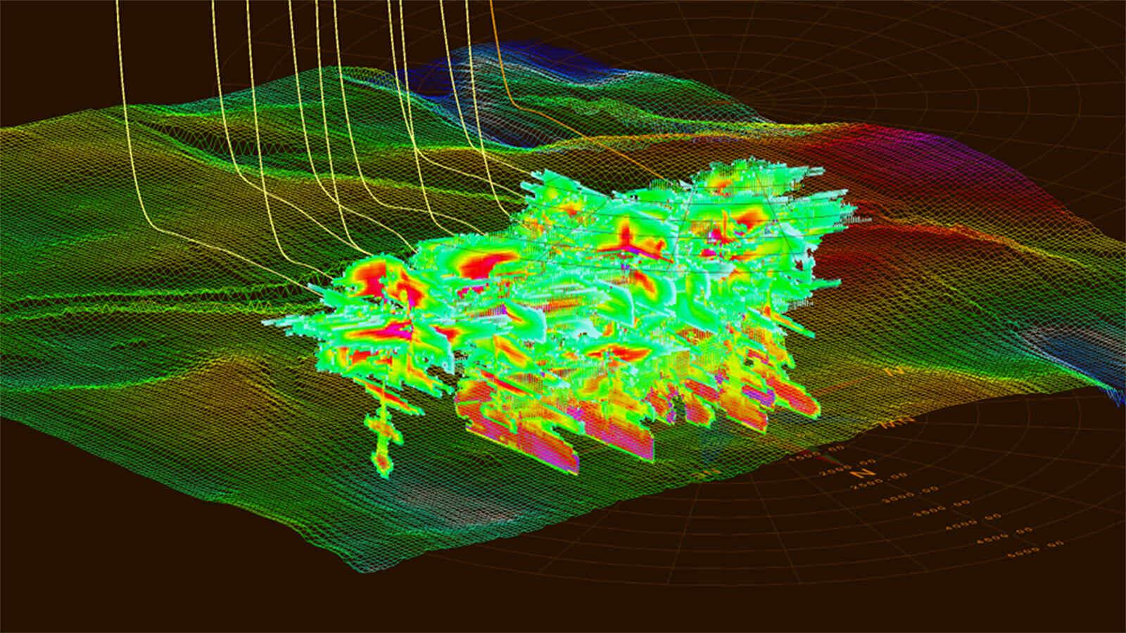 全3D模拟多裂缝和井间干扰
