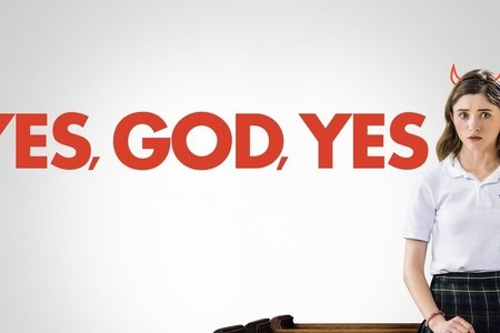yes god yes, movie poster, natalia dyer