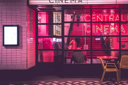 Central Cinema window