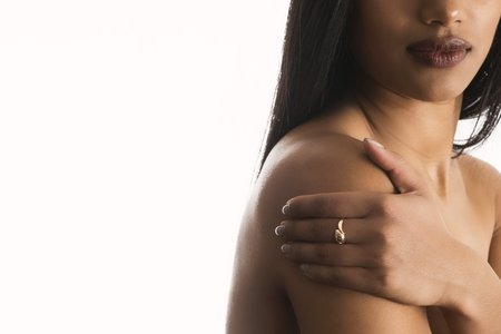 brown skin woman