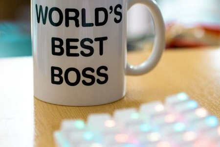 worlds best boss coffee cup