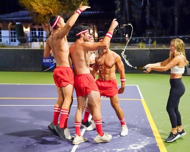 The Bachelorette strop dodgeball