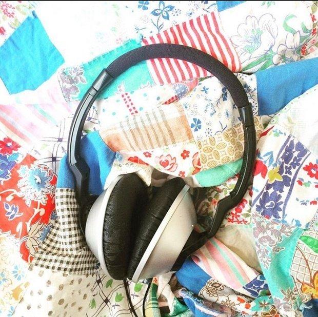 Danielle Spurge headphones