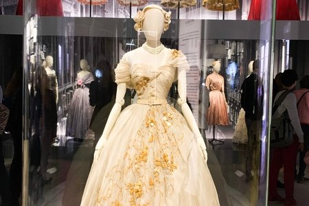 Pictures I took from Christian Dior's Designer of Dreams exhibit in London.