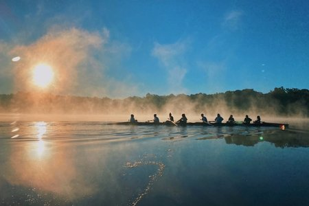 early morning row