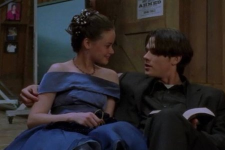Rory and Dean after prom